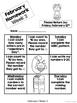 Kindergarten Math Homework {February}