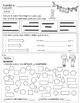Kindergarten - Math Homework - IN SPANISH - 4th Quarter