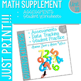 Kindergarten Math: Homework Unit 10 Year in Review
