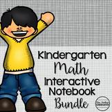 Kindergarten Math Interactive Notebook Bundle