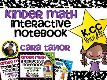 Kindergarten Math Interactive Notebook ~ Counting and Card