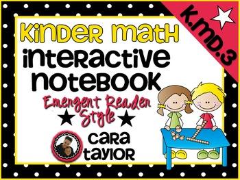 Kindergarten Math Interactive Notebook Measurement and Dat