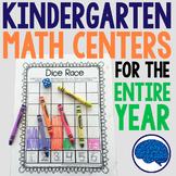 Kindergarten Math - Interactive Notebook, Projects, Center