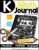 Kindergarten Math Journal Volume 4