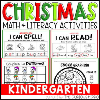 Christmas Kindergarten Pack