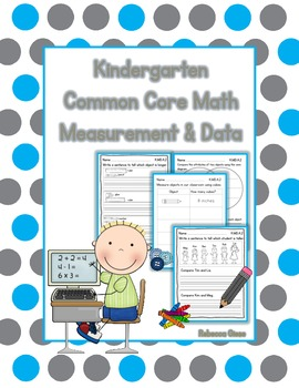 Kindergarten Math {Measurement & Data}