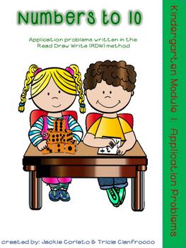 Kindergarten Math Module 1 Application Problems