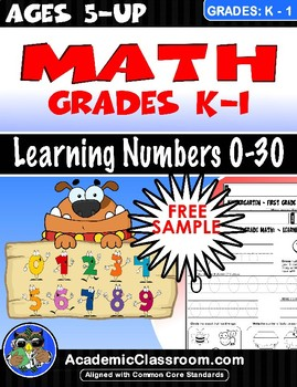 FREE Kindergarten: Math- Learning Numbers (0-10) (Free Dow