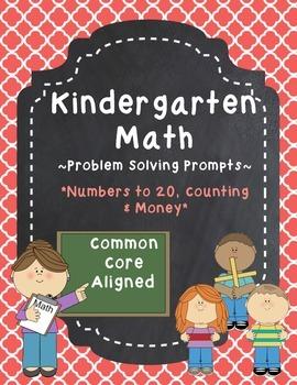 Kindergarten Math Problem Solving Prompts - Part 2/4 - Cou