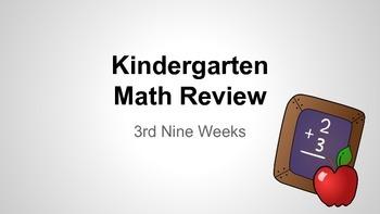 Kindergarten Math Review - 3rd Nine Weeks