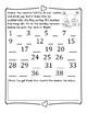 Kindergarten Math Review Packet