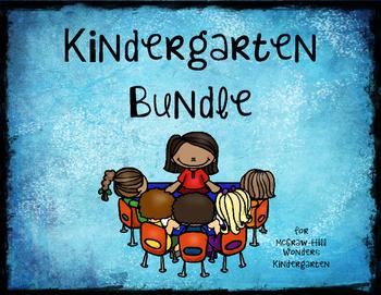 Kindergarten McGraw-Hill Wonders Supplement Bundle