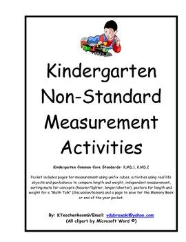 Kindergarten Measurement Packet