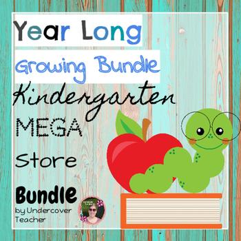 (Year Long) Kindergarten Mega Store {Growing Bundle}