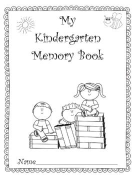 Kindergarten Memories! A Fun End-of-the-Year Project! Upda