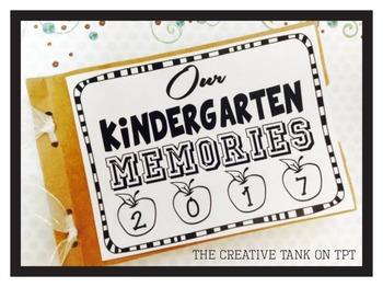 Kindergarten Memory Book A simple and cute keepsake Kinder
