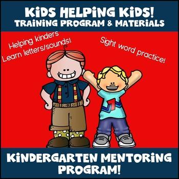 Kindergarten Mentor Program! Intervention for Kinders!