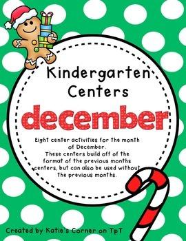 Kindergarten Centers - December