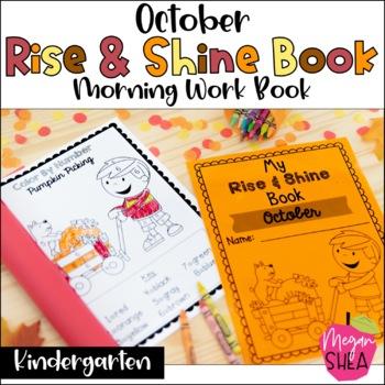 Kindergarten Morning Work Book October