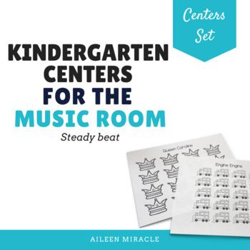 Kindergarten Music Centers {Steady Beat}