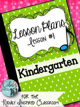Elementary Music Lesson Plan: Kindergarten Music Lesson Pl