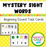 Kindergarten Mystery Sight Words
