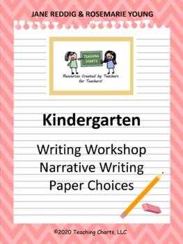 Kindergarten Personal Narrative Writing Paper (Lucy Calkin