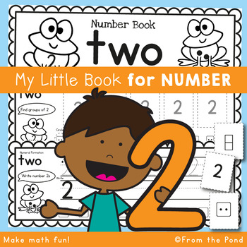 Number Workbook - Number Two - 5 Day Booklet