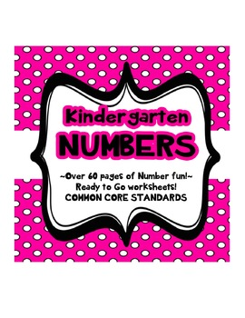 Kindergarten Number Learning Compare, Count, Know!
