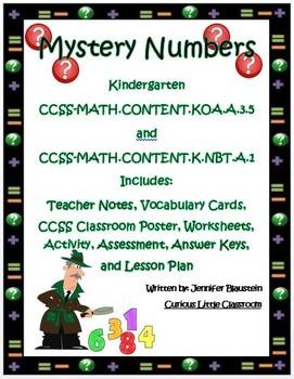 Kindergarten Common Core Operations and Algebraic Thinking