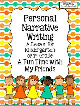 Personal Narrative Writing for Kindergarten ~ Fun With Fri