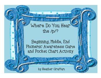 Kindergarten Phonemic Awareness Activities: Where Do You H
