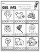 Kindergarten Phonics for Unit 1; Print and Color