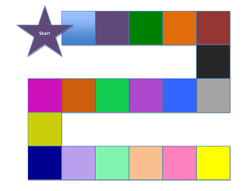 Kindergarten Phonics File Folder Gameboard - Part 2