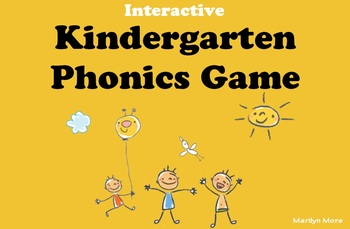 Kindergarten Phonics Game