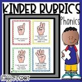Kindergarten Phonics Rubrics