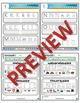 Kindergarten Phonics and Spelling Zaner-Bloser Week 1 (k,