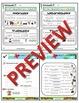 Kindergarten Phonics and Spelling Zaner-Bloser Week 29 (Y, Q)