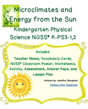 Kindergarten Physical Science-Microclimates and Energy Fro