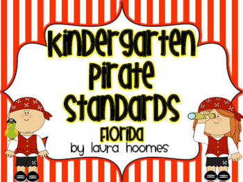 Kindergarten Pirate Standards COMMON CORE Florida