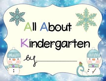 Kindergarten Portfolio- Winter