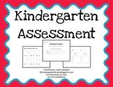 Kindergarten Progress Assessment