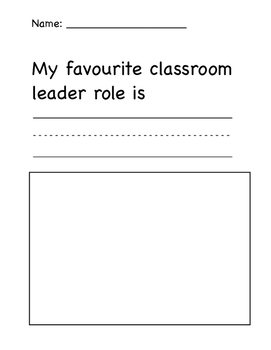 Leadership Role in the classroom