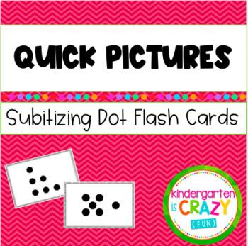 Kindergarten Quick Pictures Dot Cards 3-9