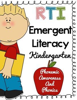 Kindergarten RTI: Phonics