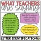 Letter Identification Essentials: Small Group & Interventi