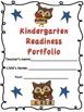 Kindergarten Readiness Portfolio