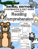 Kindergarten Reading Comprehension {Nonfiction} Animal Edition