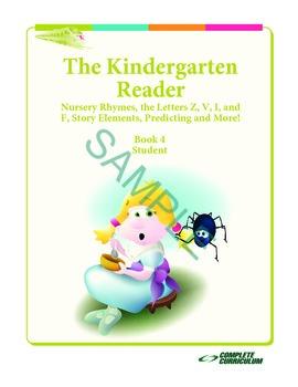 Kindergarten Reading Nursery Rhymes, Z, V, I, and F, Predi