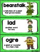 Kindergarten Reading Street Amazing Word Cards Jack and th